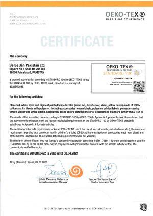 OEKO-TEX (Home Textile)